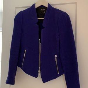 Zip-Up Blazer